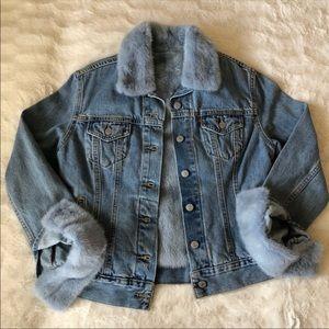 Blue Mink Denim Jacket